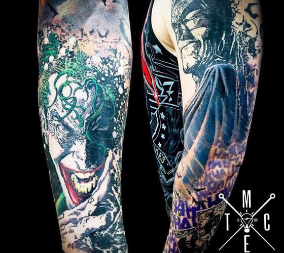 Dc comics tattoo motive world tattoo gallery for Sebastian tattoo artist dc